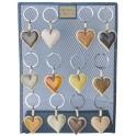 DE2075 - Porte clés Coeur